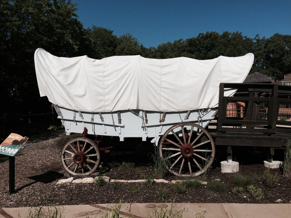 Photograph of Conestoga Wagon