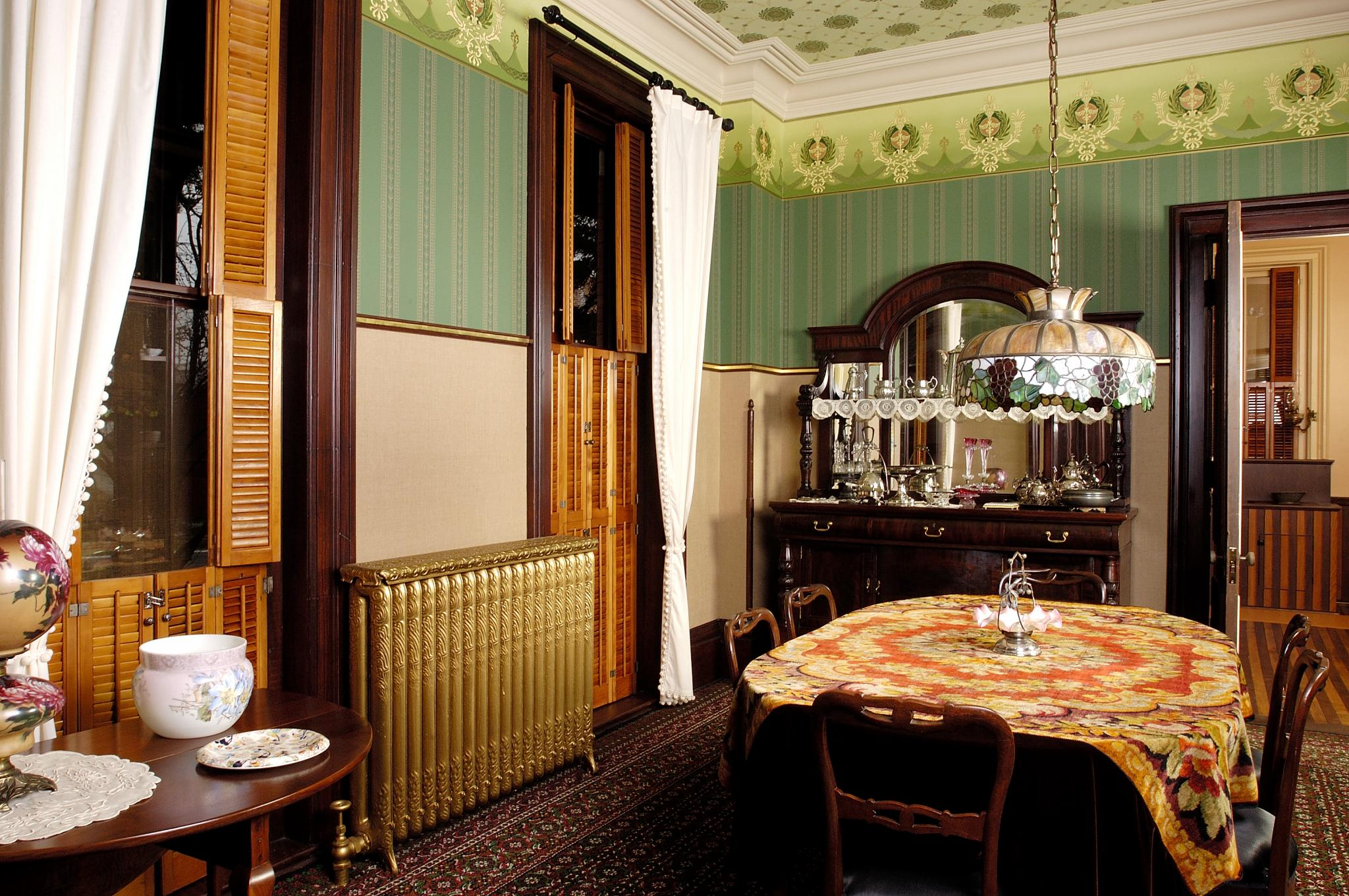 Dining room, Martin-Mitchell Mansion