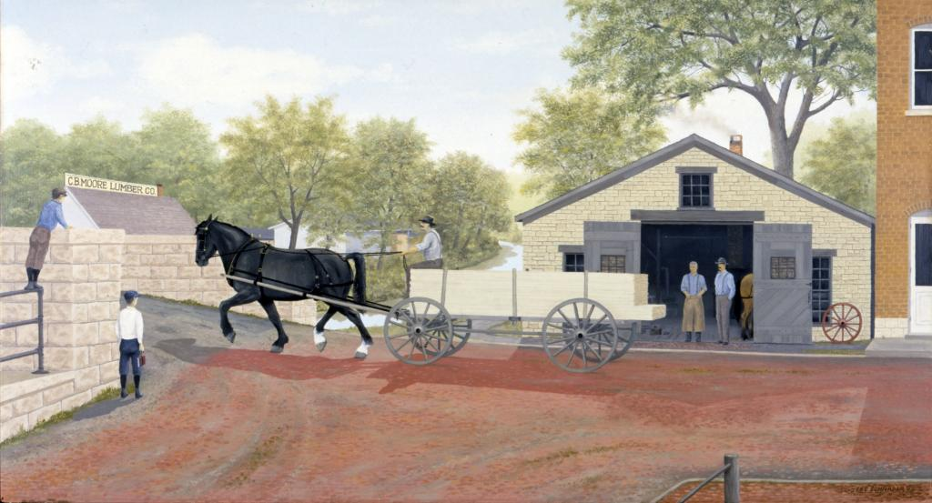 """The Blacksmith Shop"" by Les Schrader"