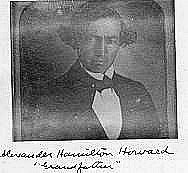 Photograph of postmaster Alexander Howard