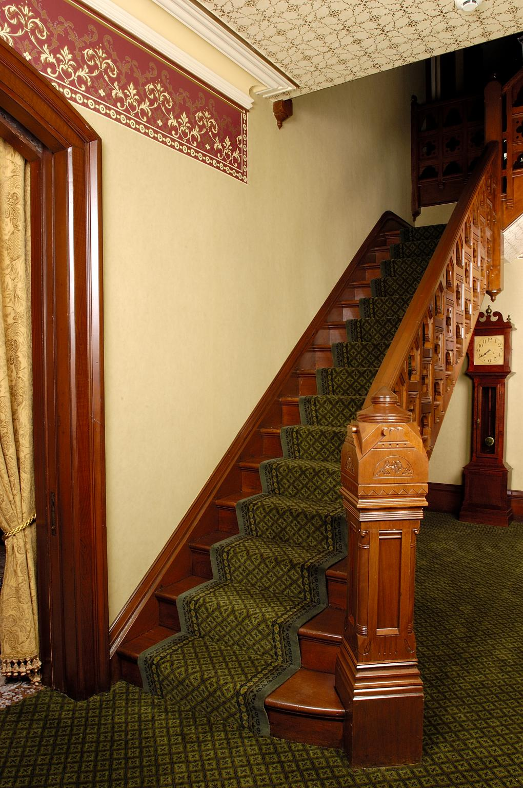 Main staircase, Martin-Mitchell Mansion